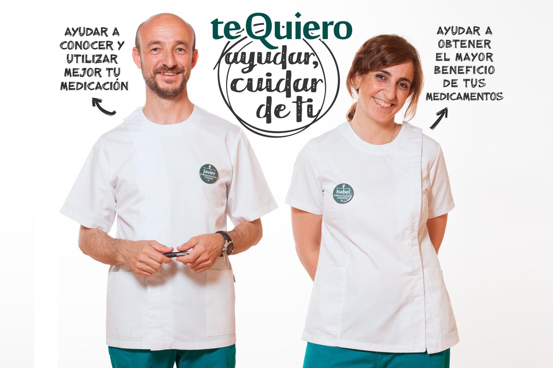 La farmacia Dr. Javier Cremades cuenta actualmente con un equipo de 5 personas, 3 farmacéuticos (un titular y dos farmacéuticas adjuntas) y dos auxiliares.